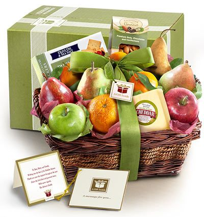 Fruit and Cheese Gift Pack