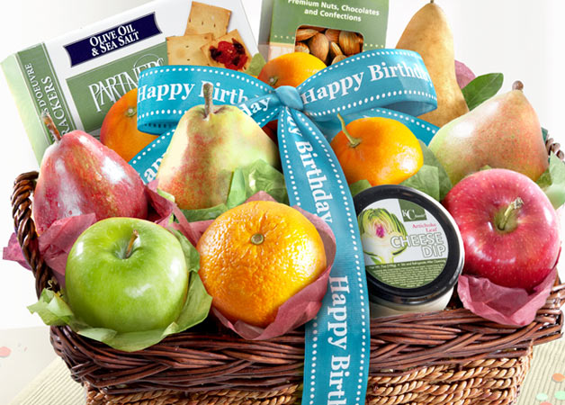 Birthday Fruit Baskets