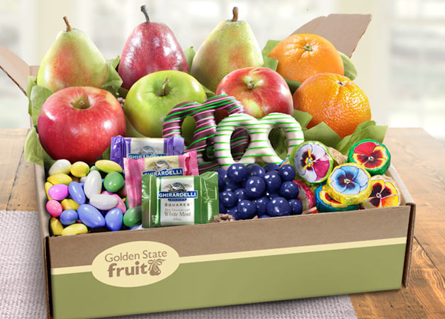 Fruit and Gourmet Gift Boxes