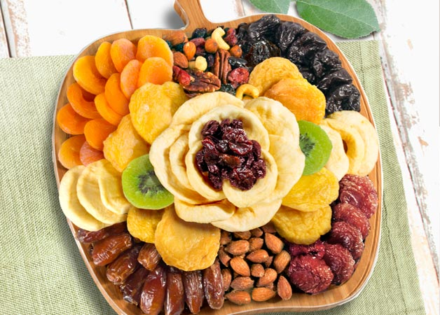 Dried Fruit and Nuts Trays