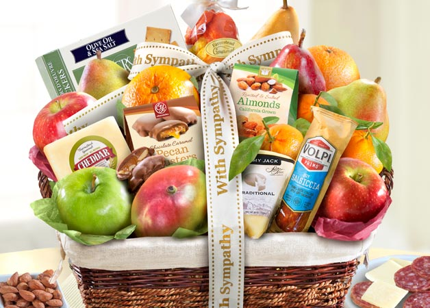 Sympathy Fruit Baskets and Gifts