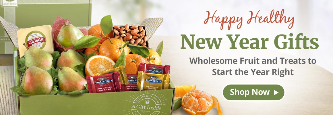 New Year Fruit and Gourmet Gifts