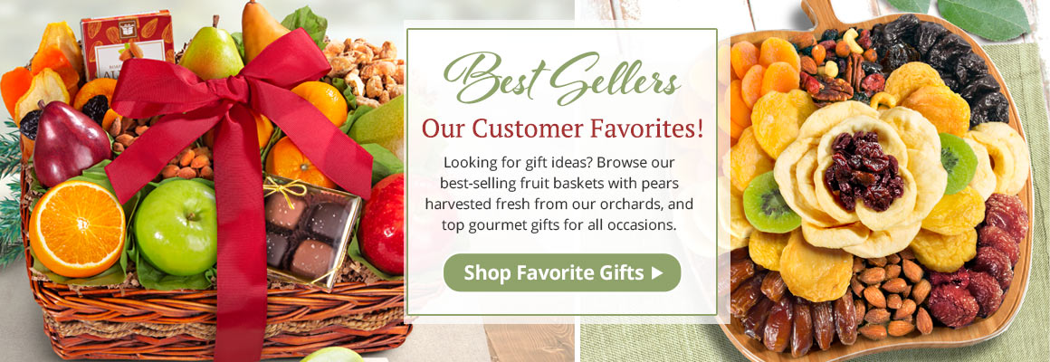 Best-Selling Fruit Baskets and Gourmet Gifts