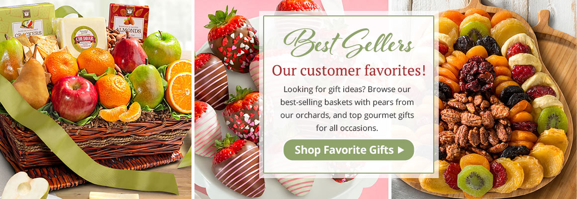 Customer Favorite Fruit, Gourmet and Chocolate Gifts