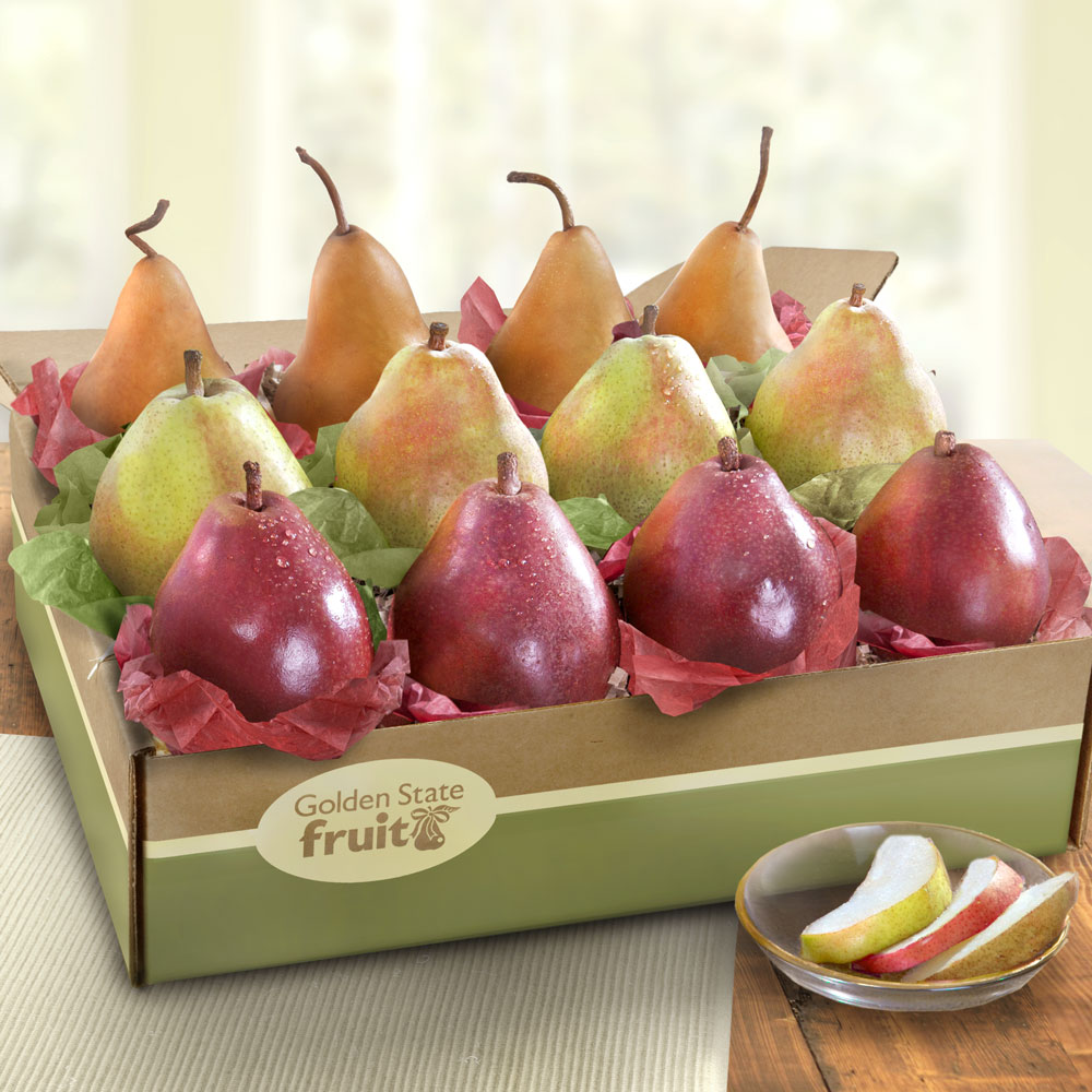 Golden State Pears to Compare Ultimate Fruit Gift